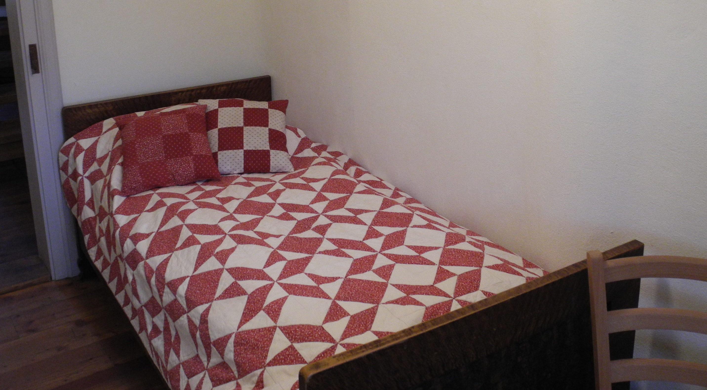 Bett in einer unserer Kammern