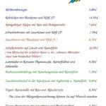 Speisekarte vom Donnerstag 28.09.2017