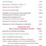 Speisekarte Mariä Himmelfahrt 15.8.2017